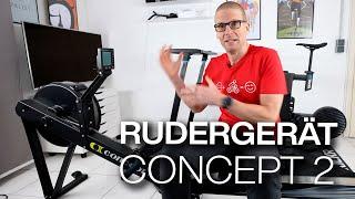 Concept 2 Rudergerät! Warum Rudern? Warum Concept 2? PM5 Ergdata App,COROS Anbindung & Strava Upload
