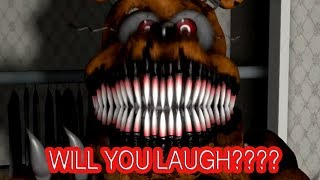 FNAF: Can You Get To The End Without Laughing (FUNNY Try Not To Laugh FNAF) #2