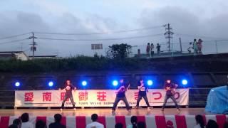 ブラックステップ愛南町御荘夏祭り27,8,21