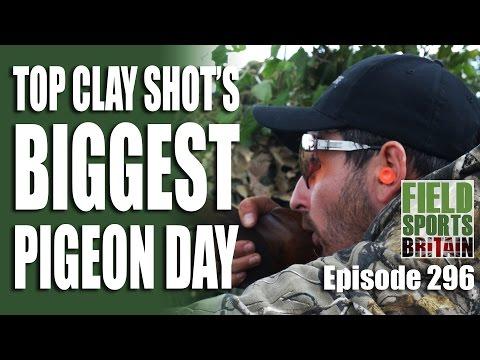 Fieldsports Britain – Top Clay Shot's Biggest Pigeon Day