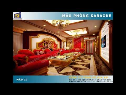 Thiết kế phòng karaoke - trang trí karaoke