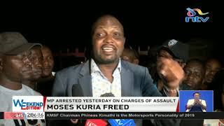 Mose Kuria turns heat on police after being released from Kilimani