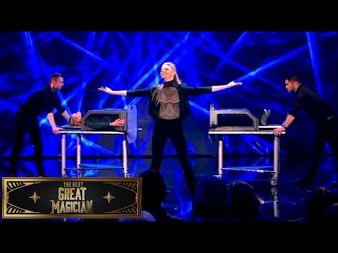 Josephine Lee Separates A Woman in Half! | The Next Great Magician