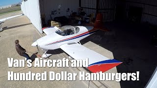 RV Aircraft Video - 100 Dollar Hamburgers! Life is Good!