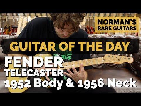 Guitar of the Day: Fender Telecaster 1952 Body & 1956 Neck | Norman's Rare Guitars