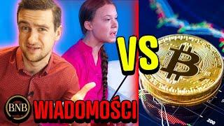 Kryptowaluty NISZCZĄ KLIMAT?! Ekolodzy WYKOŃCZĄ Bitcoina! | WIADOMOŚCI