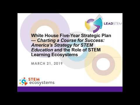 Webinar: Conversation with the Executive Office of the President's Authors of the White House 5-Year Strategic Plan for STEM Education