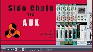 Propellerhead Reason Quick Tips: Side Chain Via AUX
