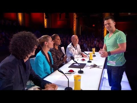 America's Got Talent S09E04 Mat Franco Fun & Imaginative Card Magic Act (видео)