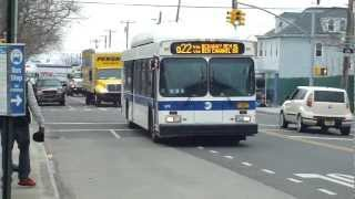 preview picture of video 'MTA Bus: 2012 New Flyer C40LF Q22 Bus #579 at B 67th St-Beach Channel Dr'
