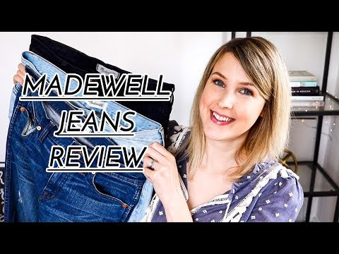 MADEWELL JEANS REVIEW | VICI LOVES