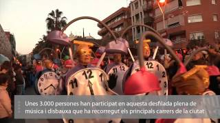 preview picture of video 'Carnaval 2015 a Santa Coloma de Gramenet'