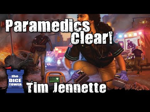 The Dice Tower:  Paramedics review - with Tim Jennette