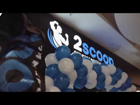 Открытие магазина спортивного питания 2scoop