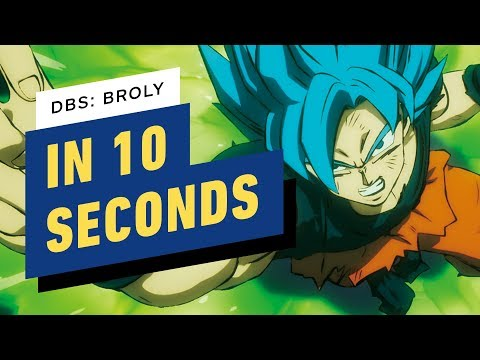 Dragon Ball Super Broly Summarized In 10 Seconds