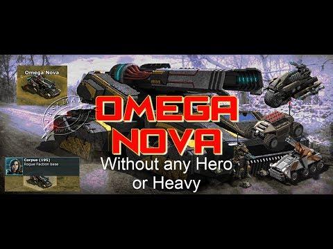 War Commander : Omega Nova - Corpus 195 (Without Any Hero Or Heavy)