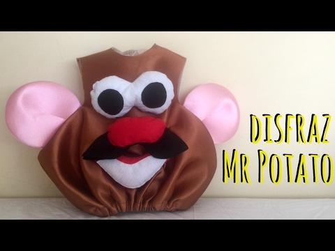 Disfraz de Mr Potato. DIY ( Patrón incluido )