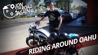 preview picture of video 'Cruising Around Oahu on a Rented Motorcycle'