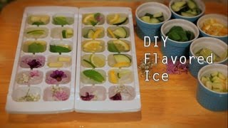 How To Make Flavored Ice