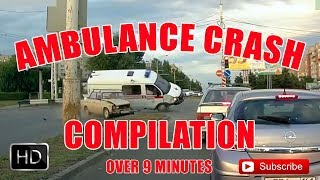 Ambulance Crash Compilation