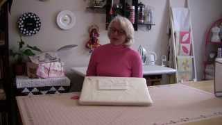 How to bury your threads in between your quilt layers