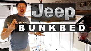 Cool Bunk Bed Made From A Jeep