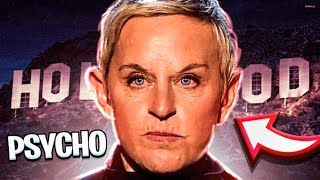 Ellen DeGeneres Is A Hollywood PSYCHO  **shocking Proof**