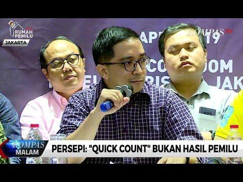 Persepi: Quick Count Bukan Hasil Pemilu