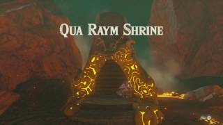 Zelda: Breath Of The Wild - Qua Raym Shrine  All Chests