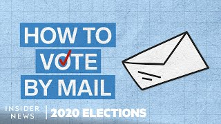 How To Vote By Mail And Vote Early In Person