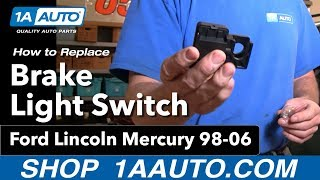 Step by Step Brake Light Switch Replacement