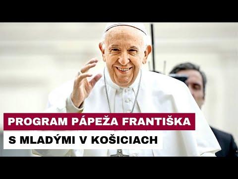Program pápeža s mladými v Košiciach naberá presnejšie kontúry