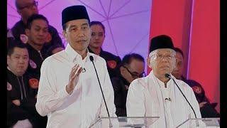 """Download Video Jokowi Sampaikan Program """"Pusat Legislasi Nasional"""" (Debat Pertama Pilpres 2019 - Bag 2) MP3 3GP MP4"""