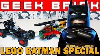 [GEEK BRICK] LEGO Фильм: Бэтмен! (Обзор 70902+ ЛЕГО-Самоделка+История серии)