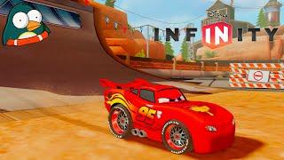 CARS Lightning McQueen Deutsch Autorennen spiele Disney Infinity 3.0
