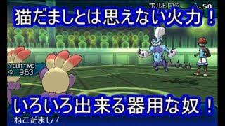 ポケモンUSM高火力猫だましで賢く立ち回れ!カウンターまで隠し持ったタスキエテボースシングルレート