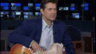Chris Isaak Sings to Rodney the dog