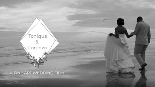 Black And White Wedding Film, Myrtle Beach Wedding