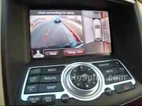 Infiniti's Around View Camera System, When Looking Out Your Window Just Won't Do