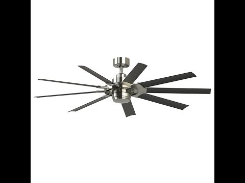How to install a ceiling Fan: Singer 2 Fanimation 0581598 Best fan ever!