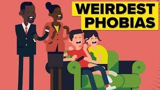 Weirdest Phobias People Suffer From!