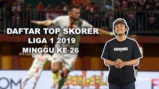 WOW TODAY: Top Skorer LIGA 1 2019 Minggu ke-26