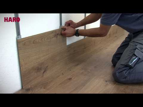 """Installation instructions for """"Floor on the Wall"""" – HARO Laminate (English)"""