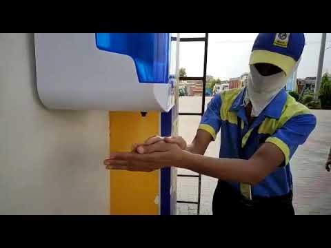 Automatic Hand Sanitizer Dispenser Unit 5 Ltr Tank