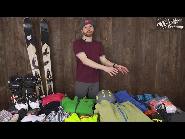 Backcountry Skiing: What to pack for a day of touring