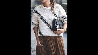 Вязаные Пуловеры Спицами для Женщин - 2019 / Knitted Pullover Knitting Needles for Women