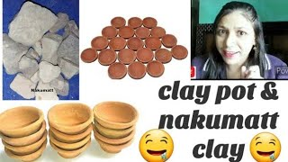 crunchy clay pot eating habit..???? nakumatt clay habit.. crunchy nakumatt clay.. #kavitadeswal #desi