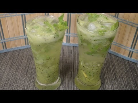 Video Virgin Kiwi Mojito