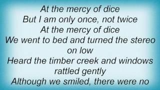 Thomas Dybdahl - Dice Lyrics
