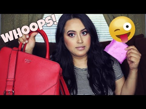 What's In My GUESS Purse TAG?! | 2018